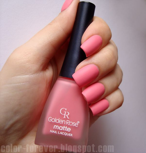 Golden Rose Matte 27