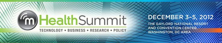 2012 #mHealth Summit