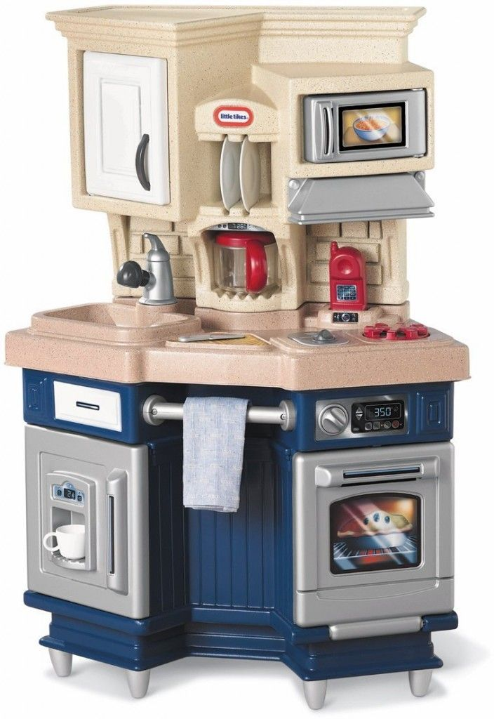 little tikes play kitchen with grill design - home design ideas