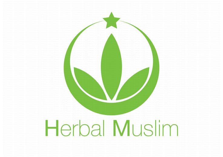 Herbal Muslim logo bright
