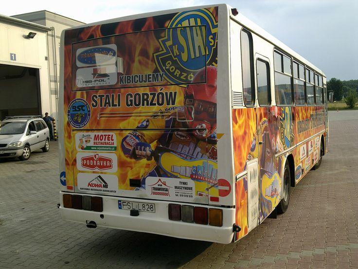 Oklejania autobusu
