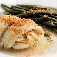 Crab-Meat-Stuffed Sole Recipe