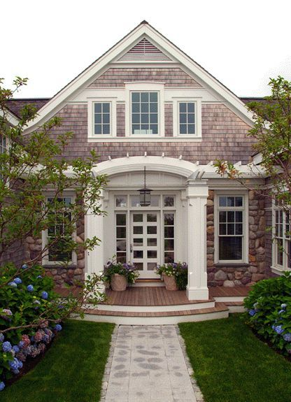 Cape Cod Shingle Style Home. The whole style is beautiful I would prefer a solid front door.  sc 1 st  Pinterest & 161 best Shingle Style Homes images on Pinterest | Architecture ... pezcame.com