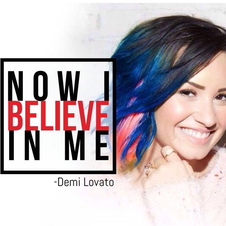 #believe in me #song #lyric #demilovato #madewithstudio