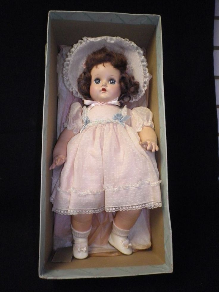 "Vintage Madame Alexander 16"" ""Little Genius"" Baby Doll / Box"
