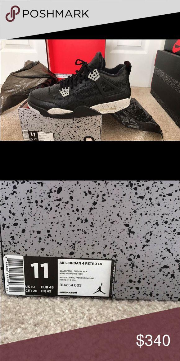 Jordan retro 4 Oreos $270 Never worn brand new ! Dead Stock. Never worn. Jordan Shoes Athletic Shoes