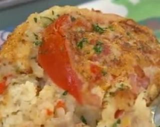 Arroz gratinado con at n cocineros argentinos comida - Ensalada de arroz con atun ...