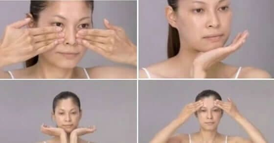 Diese japanische Gesichtsmassage lässt dich 10 Jahre jünger aussehen!  Wünschst du dir nicht auch manchmal die kleinen Fältchen um deinen Mundwinkel und die