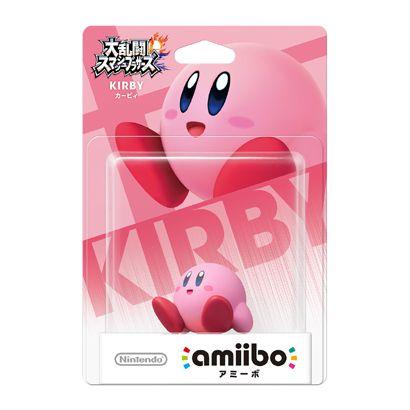 Nintendo amiibo(アミーボ) 大乱闘スマッシュブラザーズシリーズ カービィ [Wii U/3DS/3DSLL ゲーム連動キャラクターフィギュア]