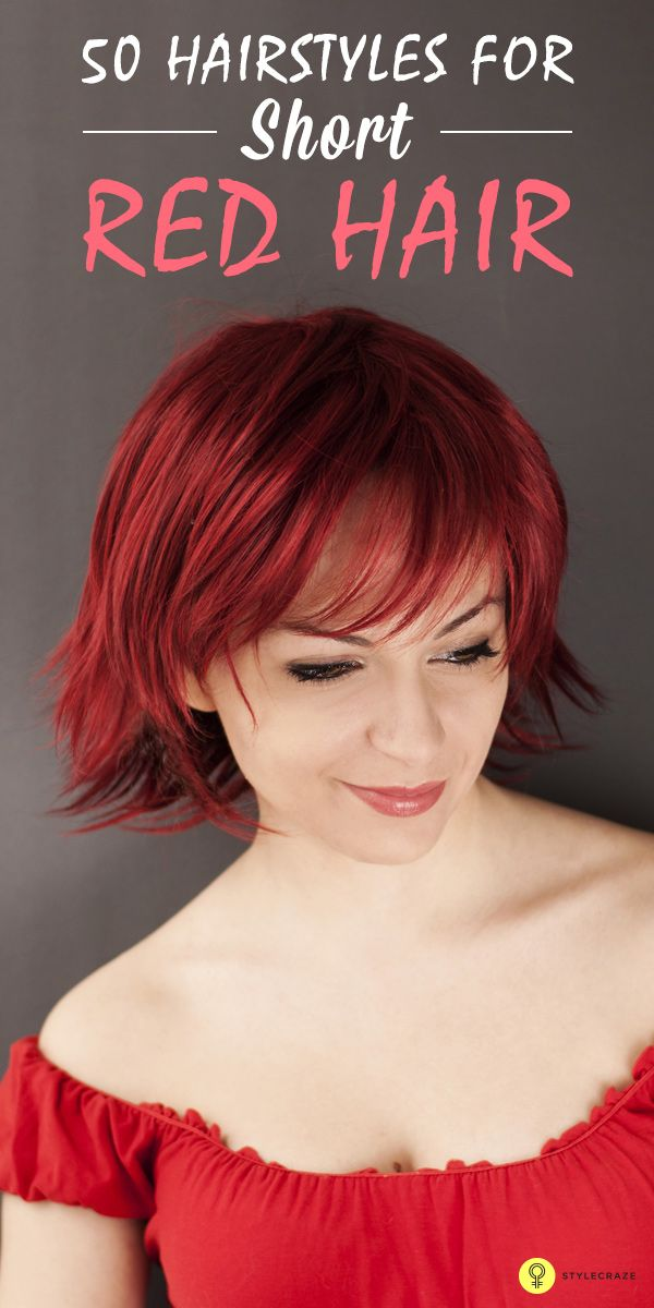 Do you have considerably #shorthair ? Do you love to experiment with your hair color? Well, here are 50 stunning short red hairstyles for you to...