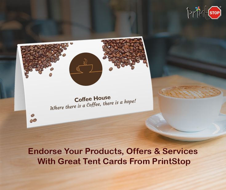 #PrintStop has terrific #TentCards for promoting nearly any product or service.  Visit site - https://www.printstop.co.in/tent-cards/?utm_source=Opteamize&utm_medium=Social%20Media&utm_campaign=Product&utm_term=tent%20cards  #PromotionalProducts
