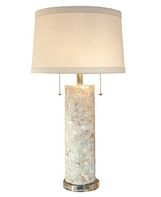 regina andrew table lamp mother of pearl column lighting lamps. Black Bedroom Furniture Sets. Home Design Ideas