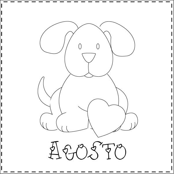Teddy & co: stitch calendar