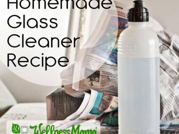 Homemade All Natural Glass Cleaner Recipe 365x274 Homemade Glass Cleaner Recipe