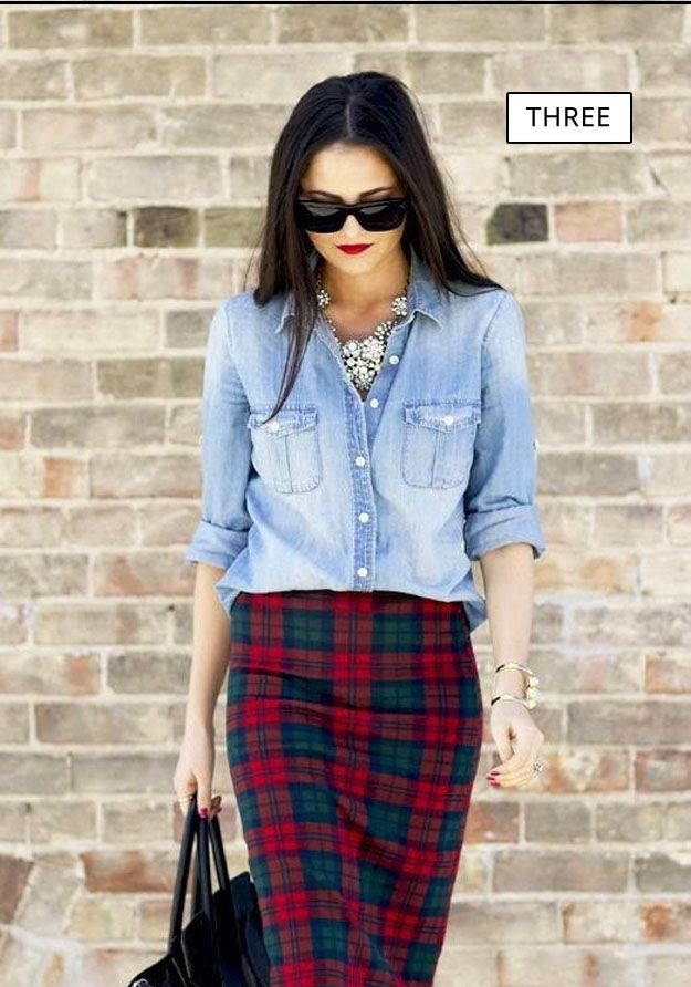 How We Wore It: 7 Ways to Wear Checkered Print
