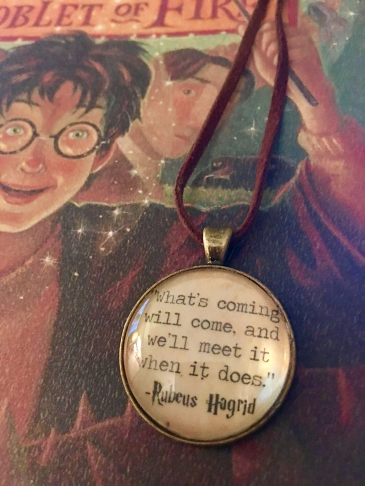 #hagrid #harrypotter #harrypotternecklace #harrypotterquotes personal favorite from my Etsy shop https://www.etsy.com/listing/467819518/rubeus-hagrid-quote-necklace
