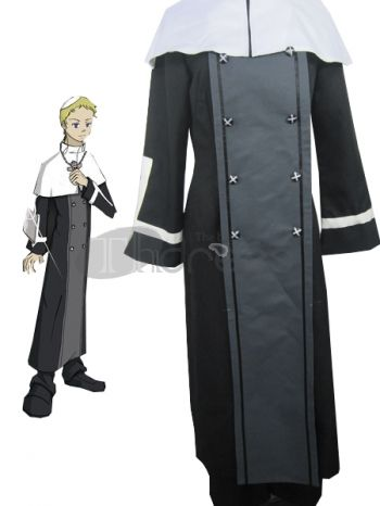 Soul Eater Justin Law Cosplay Costume, Soul Eater Justin Law Cosplay Costume
