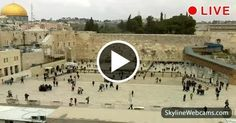 Jerusalem, view over the Western Wall and Temple Mount