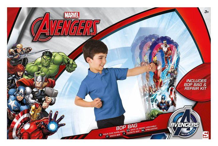 Opblaasbare Boksbal - Avengers