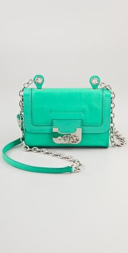 GREEN MINI BAG...LUVIT TOO!!!: Green Mint, Mint Green, Mint Purses, Colors, Minis Harpers, Harpers Bags, Diane Von Furstenberg, Bags Lady, Purses Handbags