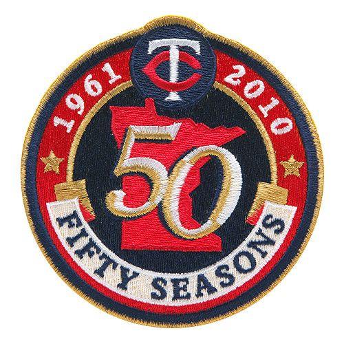 【ミネソタ ツインズ】 50周年記念ロゴパッチ(Minnesota Twins) (MLB) (メジャーリーグベースボール)【楽天市場】
