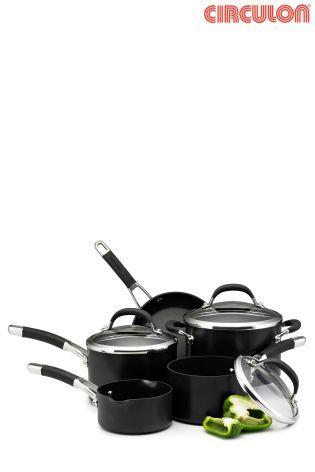 5 Piece Circulon® Premier Professional Pan Set by Meyer