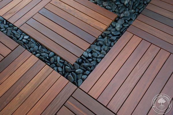 Ipe Deck Tiles On Rooftop Balcony St Petersburg Fl Wood Deck Tiles Deck Tile Deck Tiles