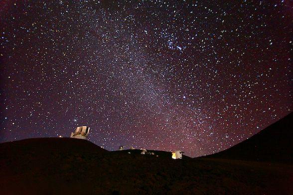 Stars at Mauna Kea, the Big Island Hawaii so glad i was able to see this