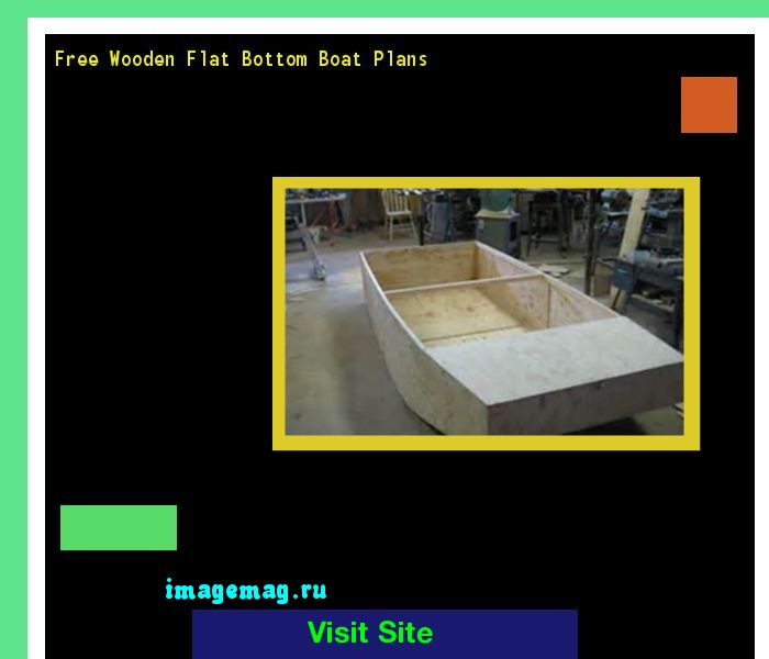 Free Wooden Flat Bottom Boat Plans 093908 - The Best Image Search