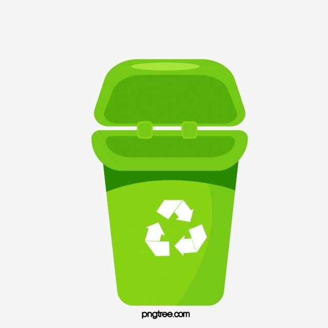 Cartoon Recovery Recycling Bin Recycling Mark Recovery Bin Trash Hand Painted Green Green Trash Can C Green Recycling Bin Recycling Bins Recycling Bins Kitchen