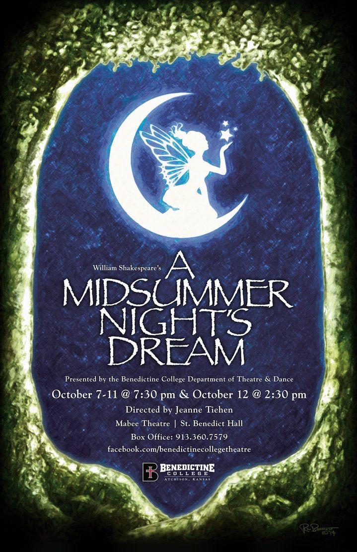 A midsummer nights dream title in