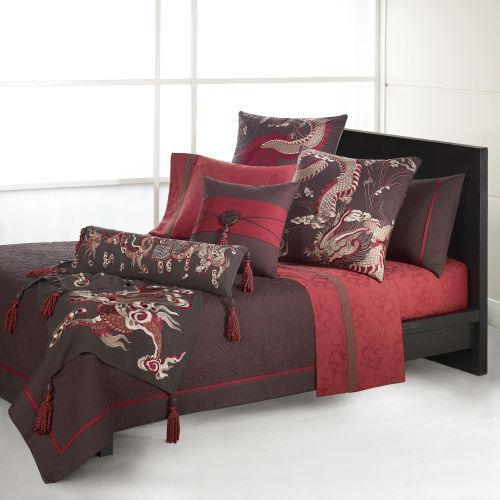 Asian style bedspreads love this