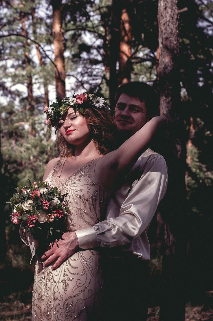 Karina & Renat wedding in forest