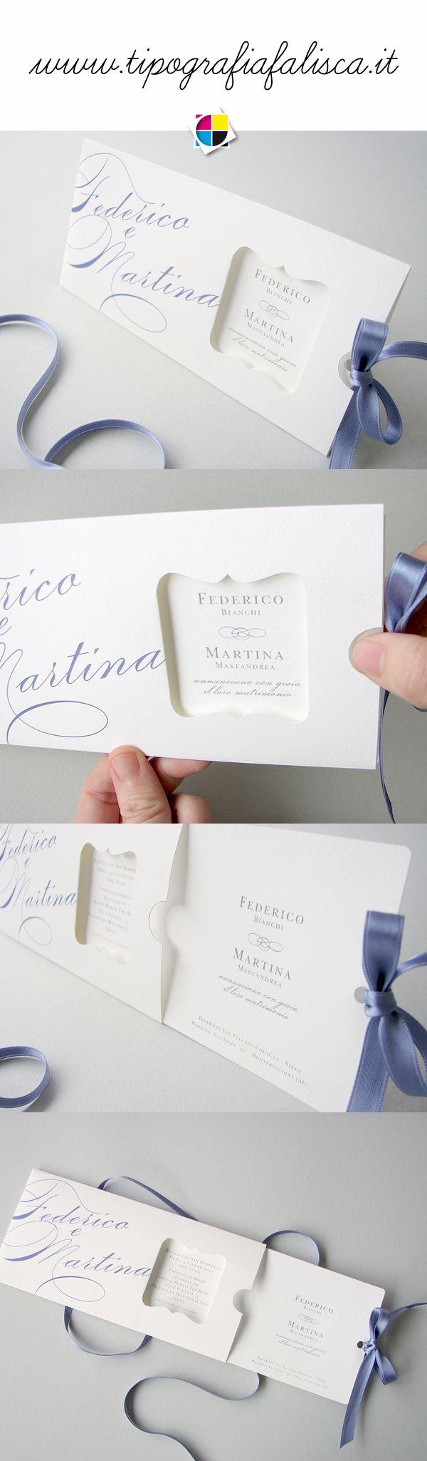 Unconventional Wedding Invitation Partezione Opera Con Apertura Clic Clac Www Tipografiafalisca