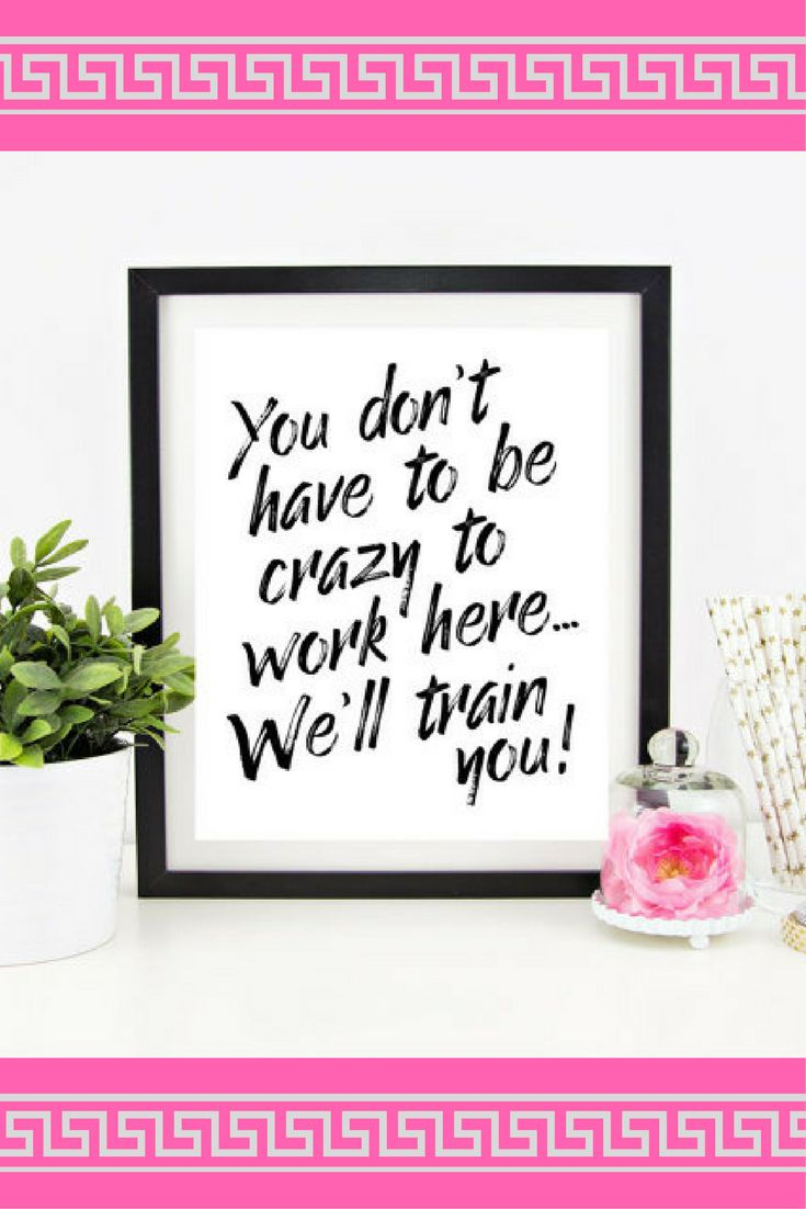 A great funny, sarcastic work quote to tell your coworkers!  Would make great office décor at my job #ad