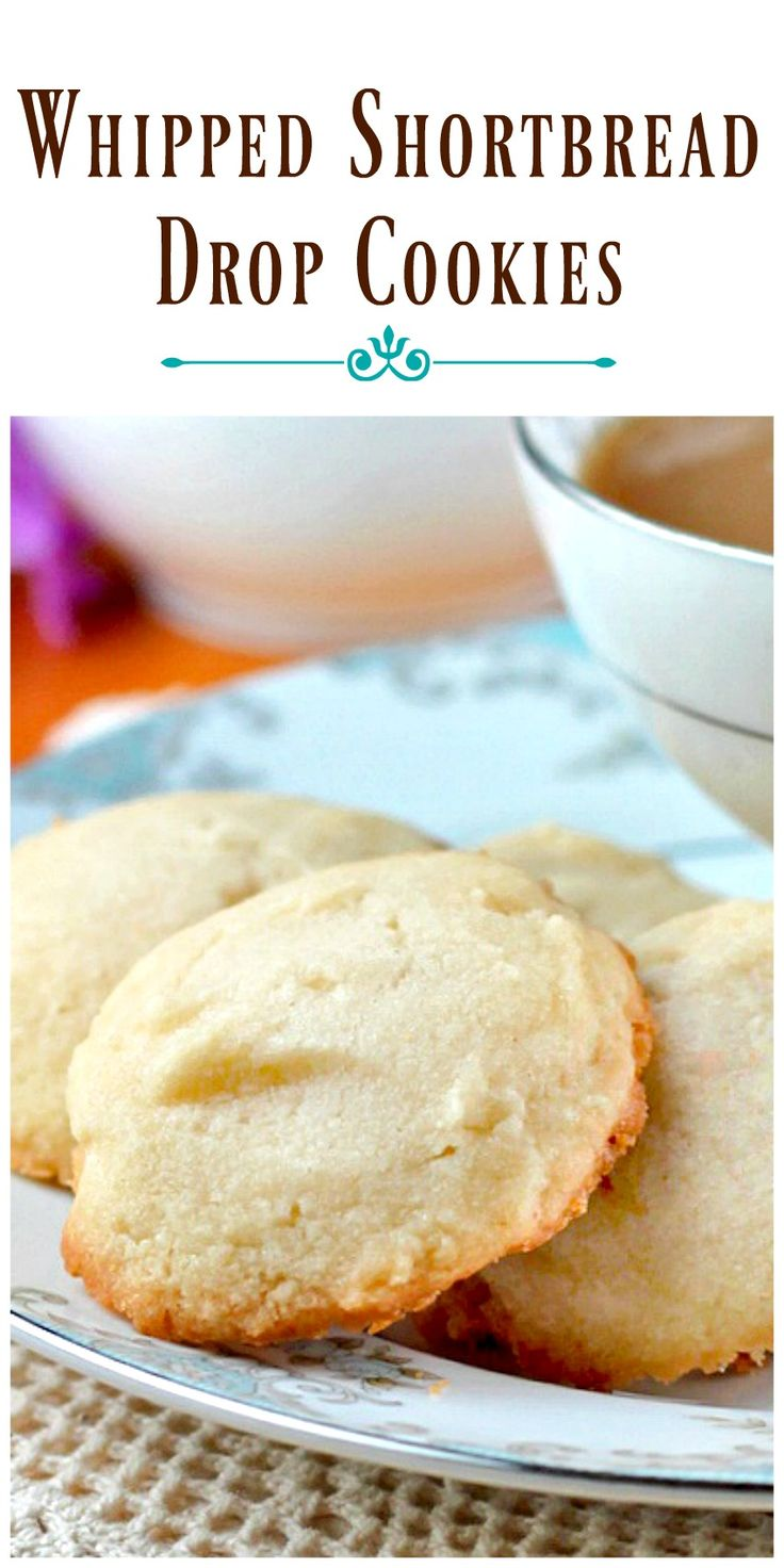 Whipped Shortbread Drop Cookies can have a different flavor and appearance every time you make them. The possibilities are endless, and simply delicious. via @https://www.pinterest.com/BunnysWarmOven/