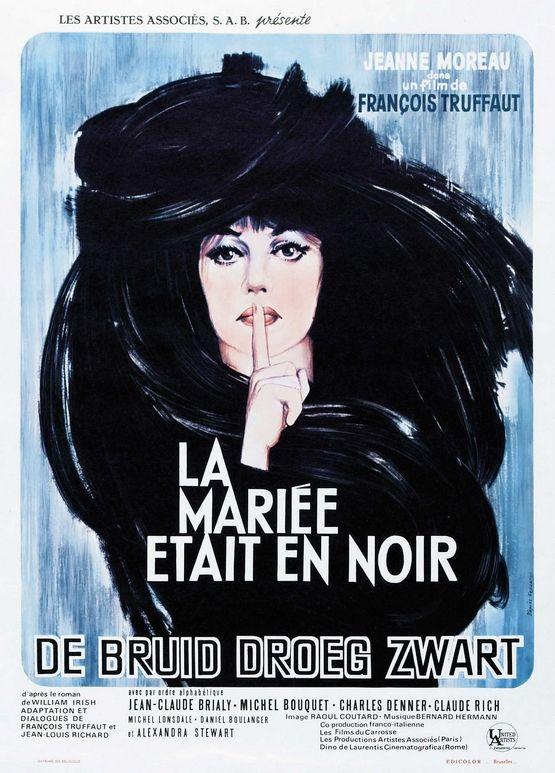 La Mariée était en noir - Film Français de François Truffaut avec Jeanne Moreau (1967)