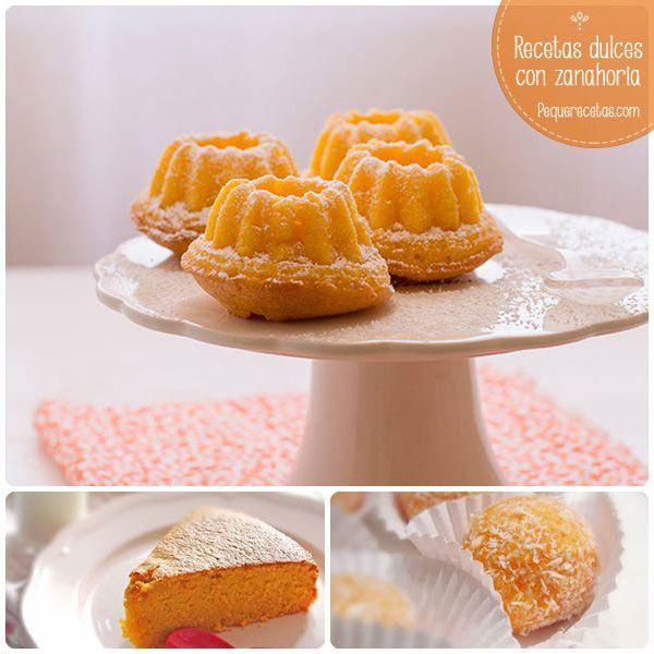 Zanahoria: 5 recetas dulces con zanahoria