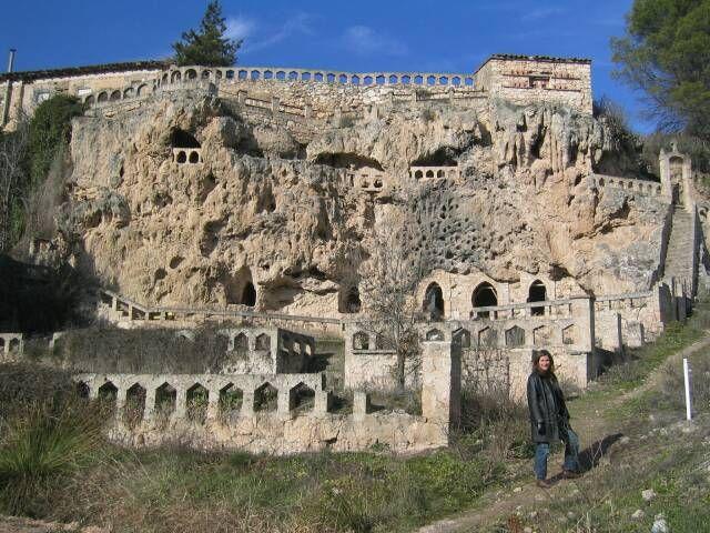 Spain. Cerca de Brihuega (Guadalajara) se  asienta Cívica o la ciudad de Petra (Jordania) excavada en la roca caliza, vivo muy cerquita y es mágica, hay que visitarla...esta muy cerca de Madrid