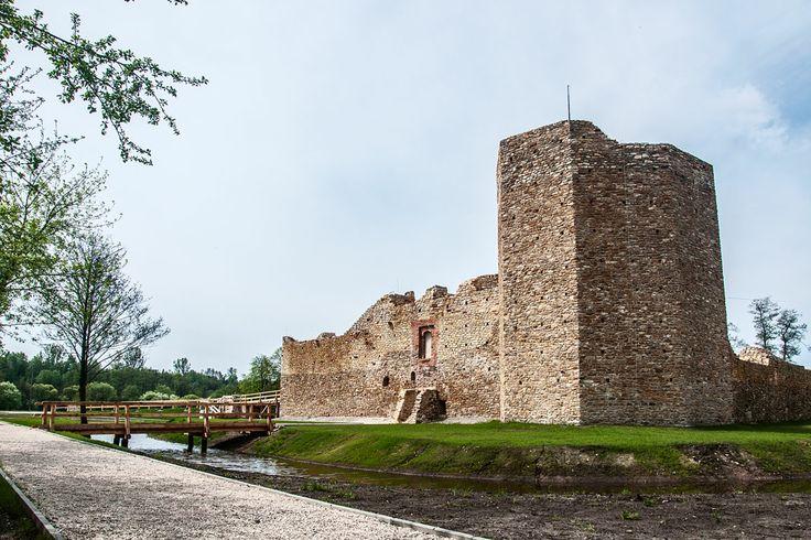 Inowłódz - Zamek Kazimierza Wielkiego
