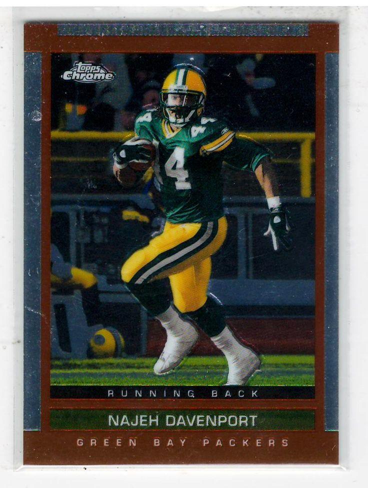Sports Cards Football - 2003 Topps Chrome Najeh Davenport