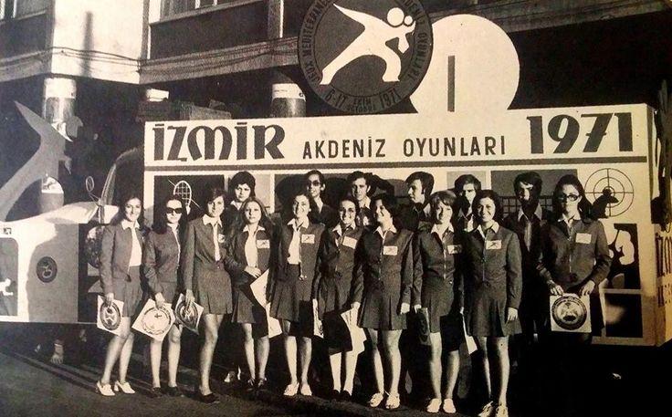 İzmir Akdeniz Oyunları 1971.