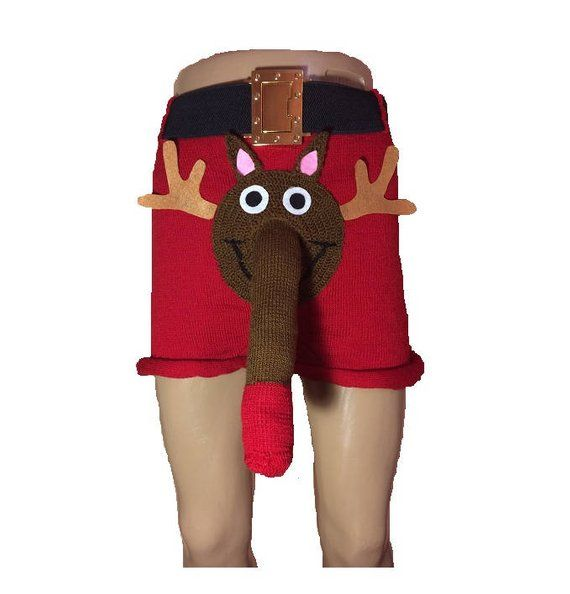 christmas underwear, Rudolph, personalized gifts cool gift anniversary gift mens gifts gifts for boy