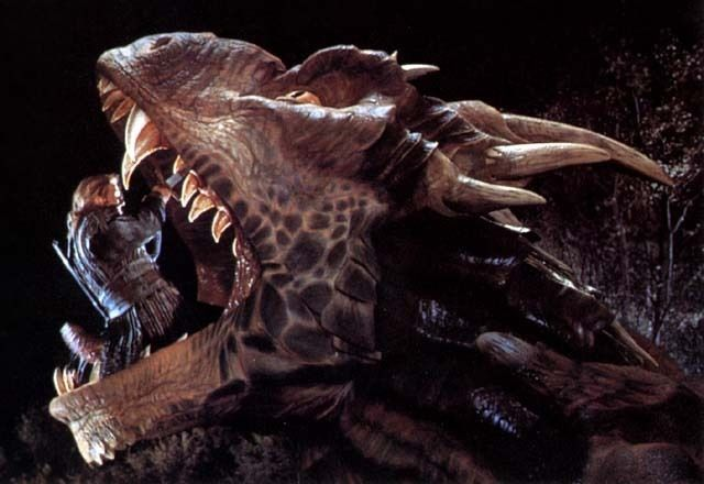Dragonheart.  One of the best parts! :D