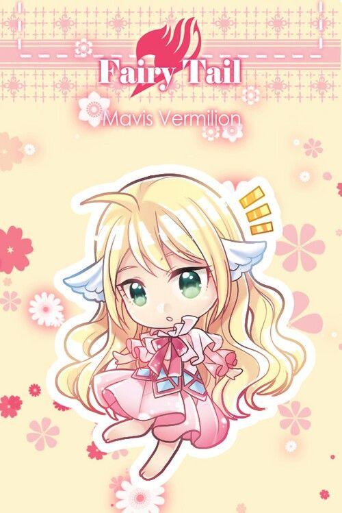 Anime/manga: Fairy Tail Character: Mavis