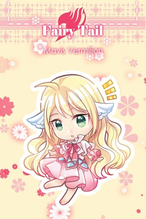 Fairy tail - mavis vermilion
