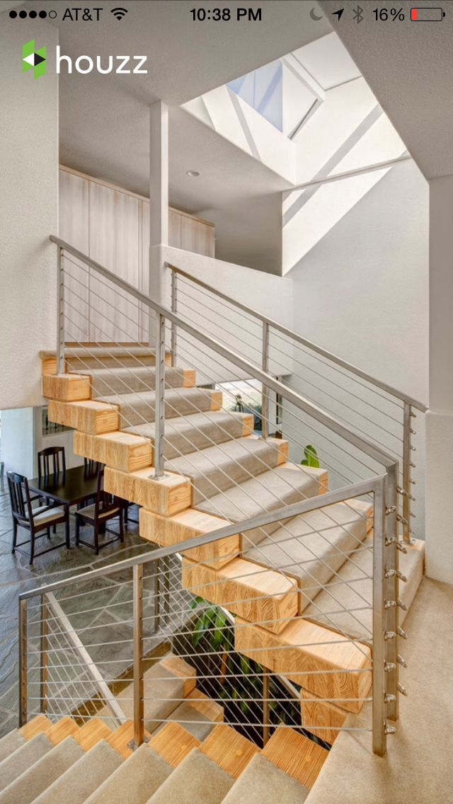 Las 25 mejores ideas sobre tapetes de escalera de - Alfombra para escalera ...