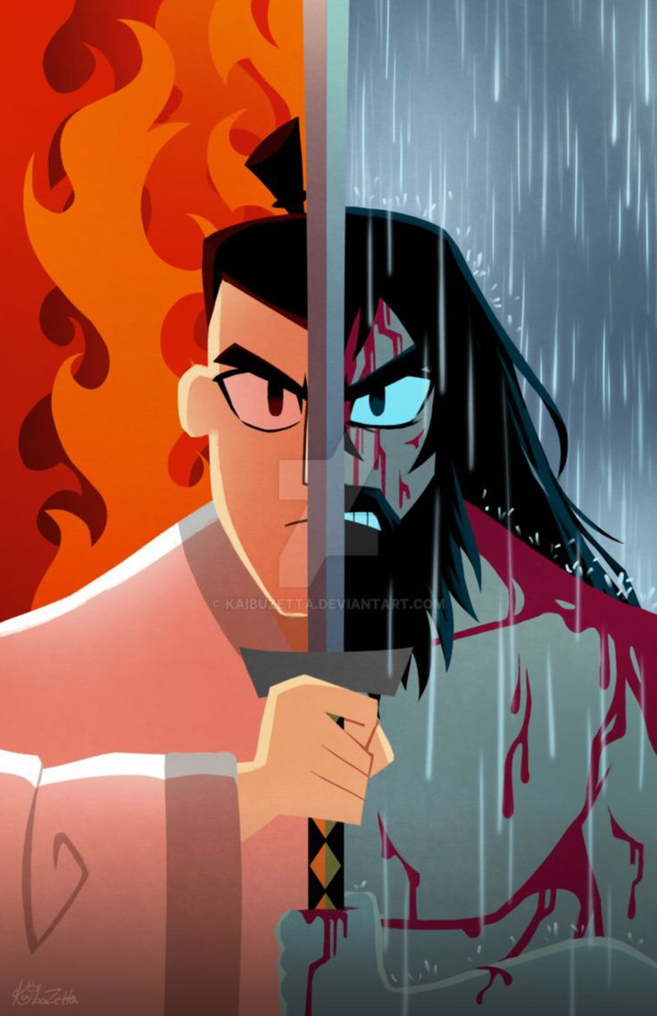 Samurai Jack Poster by Kaibuzetta on @DeviantArt