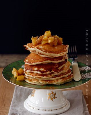White Plate: Śniadania: Pancakes.