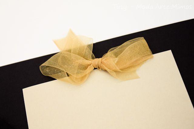 Do It Yourself - DIY - Cartões para recados no seu casamento (ou noivado, ou aniversário, ou bodas, você é quem decide) - Decoração de Festa - Tuty - Arte & Mimos www.tuty.com.br